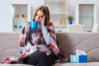 Taking Care of Your Dental Health When You Are down with the Flu